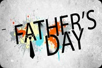 Father's Day Wordart Background