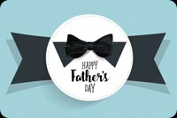 Father's Day Black Bow Tie Background