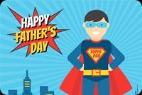Superhero Dad Background
