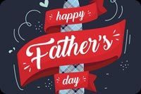 Happy Father's Day Banner Background