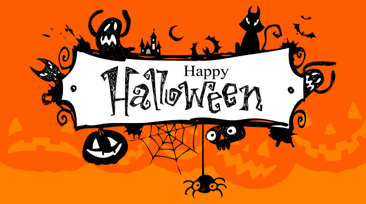 Halloween Frame Banner Email Backgrounds Id 2200 Emailbackgrounds Com