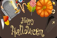 Halloween Objects Background