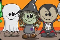 Halloween Kids Wishes Background