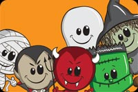 Halloween Kids Wishes 2 Background