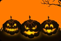 Halloween Pumpkins Spirits! Background
