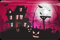 Halloween email backgrounds. Halloween Haunted House
