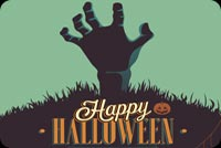 Halloween email backgrounds. Zombie Halloween Party