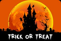 Spooktacular Halloween Wishes Background