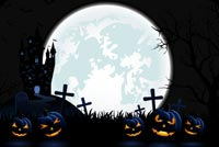 A Scary Halloween Night Background