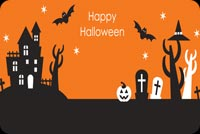 Halloween email backgrounds. Halloween Boo