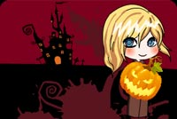 Halloween Trick Or Treat Night Background