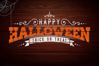 Halloween Wooden Theme Background
