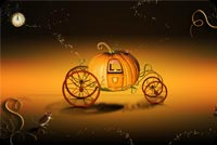 Cinderella Pumpkin Carriage Background