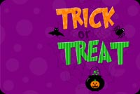 Halloween email backgrounds. Halloween Trick Or Treat