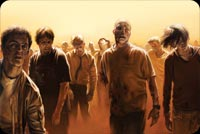 Walking Dead Zombies Background