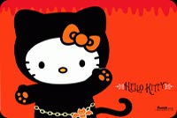 Halloween Cute Hello Kitty Background
