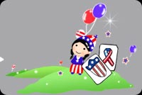 Happy 4th Of July! Background