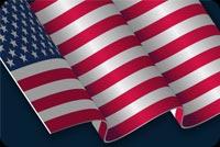 Usa Flag And Stars Background