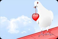 Love email backgrounds. Love Bird