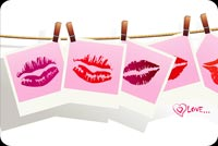 Love email backgrounds. Love Kiss - Sexy Lips