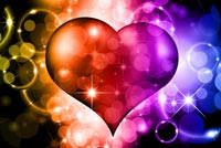 Love email backgrounds. Magic Heart