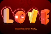 Express Your Love Background