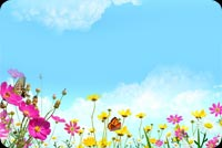 A Beautiful Day Background