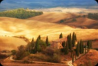 Tuscany In Autumn Background