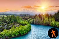 Animated Most Beautiful River Background