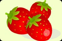 Nature email backgrounds. Strawberries