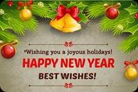 Wishing You A Joyous Holidays Background