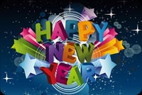 Lovely Happy New Year Background