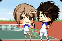 We Play Tennis Background