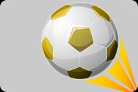 Sports email backgrounds. Soccer Ball