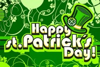 Old Fashioned St Patrick's Day Background