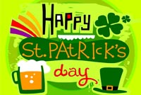 Fun St Patrick's Day Background