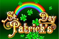 Clovers Rainbow St Patrick's Day Background