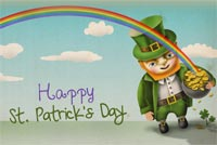 St. Patrick's Day Wish For You Background