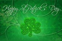 Sparkling St. Patrick's Day Background