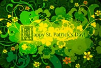 Happy St Patrick's Day Background