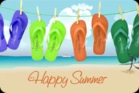 Summer email backgrounds. Happy Summer