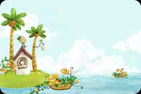 Summer Fairyland Background