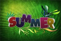 Happy Summer Background