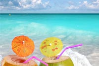 Summer Beach Relax Background