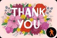Thank You Card By Hallmark Background