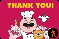 Thank You By Chefclub Background