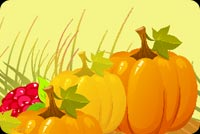 Beautiful Thanksgiving Wish Background