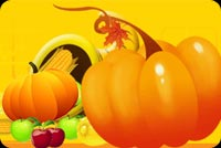 Thanksgiving email backgrounds. Blessed Thanksgiving