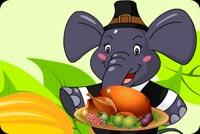 Yummy Thanksgiving Background
