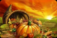 Warmest Thanksgiving Wishes Background